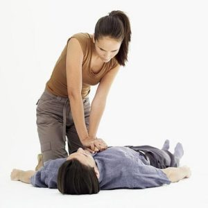 MY FIRST EXPERIENCE WITH CPR.